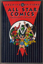 DC All Star Comics Archives Edition Vol 5 FS Hardcover Wonder Woman Hawkman Atom
