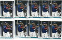 2019 Topps Update Vladimir Guerrero Jr RC #US1 Rookie Blue Jays (10x) Card LOT
