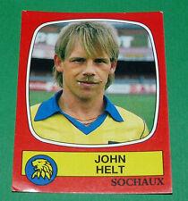 N°282 JOHN HELT FC SOCHAUX MONTBELIARD FCSM PANINI FOOTBALL 87 1986-1987