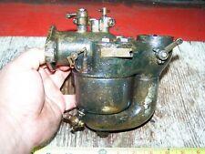 "Old KINGSTON 1 5/8"" 5 Ball Brass Prairie Tractor Marine Engine Carburetor NICE!"