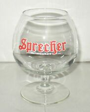 New listing Sprecher Brewing Beer Glass Snifter Milwaukee Wisconsin