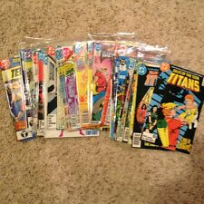 TEEN TITANS, TALES, MIXED LOT 33 COMICS 1981 THRU 1989 SEE DETAILS VF TO VF+