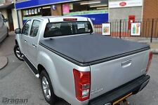 To Fit 2016+ Isuzu D-Max Rodeo Tri Fold Soft Tonneau Cover Accessories Non Drill
