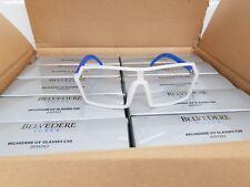 JOBLOT 50 x Belvedere Vodka UV GLASSES  Individually boxed new