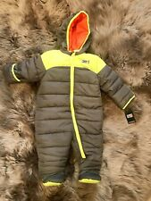 NWT 6 9 WeatherProof 32 Degrees Infant face Baby SnowSuit SNOW north JACKET snow