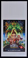 L136 Plakat JIMMY Neutron Boy Wunderkind Boy Genius Animation
