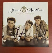 SIGNED CD for Nick & Kevin in Spain - Jonas Brothers