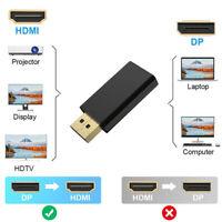 DisplayPort DP to HDMI Adapter 4K 2K 60Hz Video Audio Converter for HDTVWFITCRIT