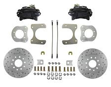 Rear Disc Brake Mopar 8-1/4 & 9-1/4 axle Black Calipers