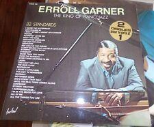 ERROL GARNIER - THE KING OF THE PIANO JAZZ - 2 DISQUES VINYLES