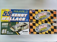Lot of 4 Diecast 1:24 Joe Nemechek #01 Gordon #24 Parsons #10 Wallace #55