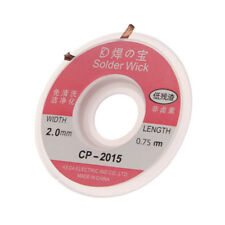 2.0 mm Desoldering Braid Solder Remover Wick Wire Cable CP-2015 Llq