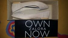 Ballerina Flat Shoes (Beige)