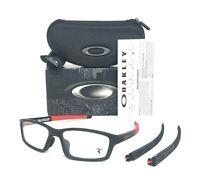Oakley A Crosslink Pitch FERRARI OX8041-0956 Satin Black  56mm Eyeglasses