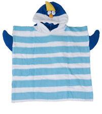 NEU Bade-Poncho HAI Kinder Strand Badeumhang Handtuch Frotté Baumwolle CE OVP