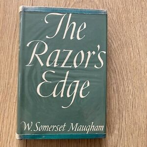 The Razor's Edge by W Somerset Maugham, Reprint Society 1945 with Dust Jacket