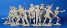 Plastic Toy Soldiers Pirets English buccaneers set