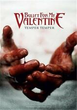 "BULLET FOR MY VALENTINE  Rock flag/ Tapestry/ Fabric Poster ""Temper Temper"" NEW"