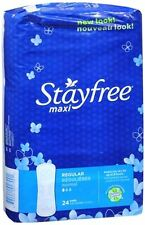 STAYFREE Maxi Pads Regular 24 Each