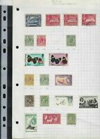 british commonwealth stamps page ref 17391