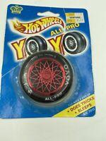 HOT WHEELS ALL PRO YO YO' TIRE AND BLUE SPOKED RIM VINTAGE 1990