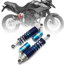 "Motorcycle 340mm 13.5""  Rear Shock Absorber Air Suspension For Suzuki Honda Blue"