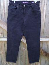 Gloria Vanderbilt Amanda Black Jeans Size 12................................Z266