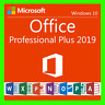 Microsoft Office 2019 Professional Plus für 1 PC/25S Versand E-Mail 100% Aktivie