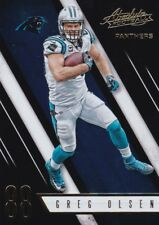 Greg Olsen  2016 Panini Absolute Football, Sammelkarte , #59