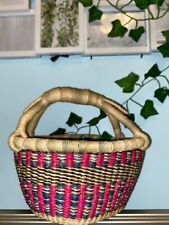New ListingHandmade Brand New Ghanian Baskets made of Wicker of all Colors
