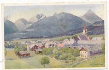 Kunst-Karte aus Kötschach im Gailtal, Kärnten   (G22)