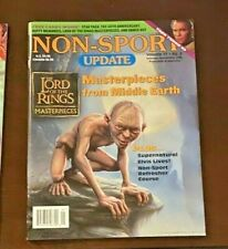 Rare Non-Sport Update Magazine Oct/Nov 2006 Lord of the Rings Masterpieces Mint!