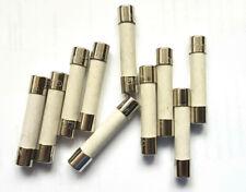 """in ceramica f10a 250v//f10a H 250v HBC Fast Colpo Rapido x2pcs FUSIBILE 10a 32mm 1.25/"""""""