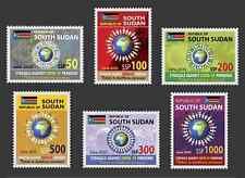 SOUTH SUDAN 2020 - FULL SET - JOINT ISSUE - STRUGGLE AGAINST PANDEMIC - RARE MNH