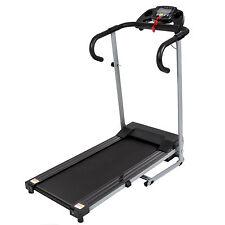 Black 500W Portable Folding Electric Motorized Treadmill Running Fitness Machine