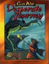 Clan War Desperate Journey Sc Vg L5R