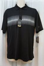 Greg Norman for Tasso Elba Mens Casual Shirt Sz S Deep Black Combo Collared