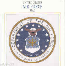 UNITED STATES AIR FORCE SEAL  ~  CROSS STITCH PATTERN