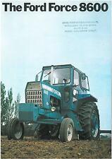 FORD brochure tracteur force 8600-DG2