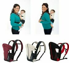 Front And Back Breathable Sling Babies Carriers Polyester Solid Pattern Carriage