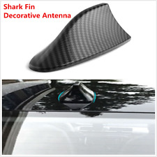 Classic ABS Auto Car Exterior Top Roof Shark Fin Adhesive Decorative Antenna
