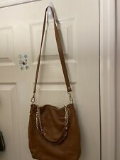 Caramel Leather Crossbody Michael Kors