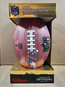 """Official NFL Authentic Game Ball - """"The Duke"""" Football - Brand New In Box"""