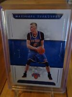2016-17 PANINI NATIONAL TREASURES KRISTAPS PORZINGIS BASE CARD /99