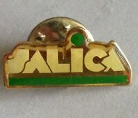 Salica Food Distributors Pin Badge Rare Vintage Advertising (F10)