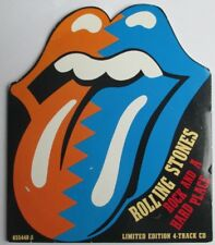 "THE ROLLING STONES - RARE LIMITED EDITION 4 TRACKS CD ""ROCK AND A HARD PLACE"""