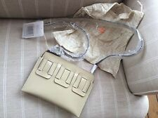 Orla Kiely Glass Leather Poppy Bag Cream New With Tags Hand Bag Bag
