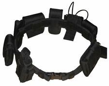 Black Law Enforcement Modular Equipment System Security Military Tactical Belt