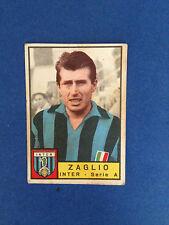 FIGURINA CALCIATORI PANINI STICKERS 1963/64 INTER ZAGLIO NUOVA
