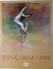 "Hua Chen - Beijing 2008 Olympic Poster - GYMNASTICS - 18"" x 24"", USA, Women"